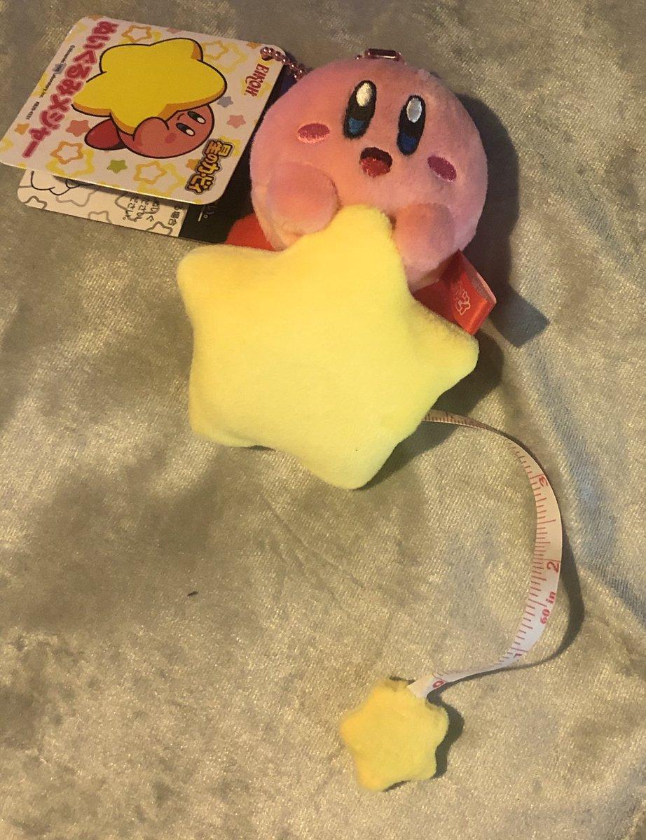 My new Kirby measuring tape 👀😏 #Nintendo