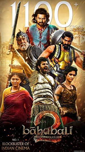 Similar movies with Baahubali 2: The Conclusion (2017):      - Arn: The Kingdom at the End of the Road     - King Arthur: Legend of the Sword     - Tanhaji: The Unsung Warrior    More 📽: https://t.co/q6LUADOGMx    #whatToWatch #findMovies #movies https://t.co/HuR2JyX9wI