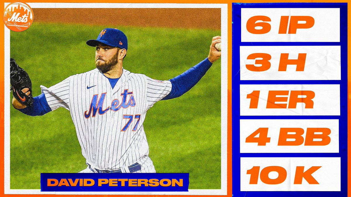 Career high 1️⃣0️⃣ strikeouts for @_David_Peterson. 🔥 https://t.co/Qwfe3LGmW4