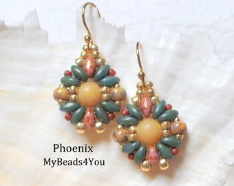 Earrings https://t.co/fSbxcqLOas DIY Pattern https://t.co/Us9P188mK2 #earrings #giftideas #giftsforher #beaded #jewelry #jewelrymaking #beadwork  #fashion #seedbeads #epiconetsy #craftychaching #TMTinsta #jewelrylovers #etsyshop #onlineshopping #etsyseller https://t.co/rVLTF3XGWC