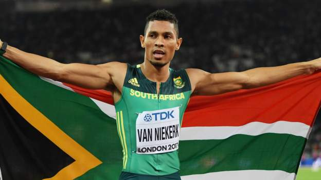 Wayde van Niekerk wins on international return saying he 'almost forgot how to race' https://t.co/fuBuFRcLj2 https://t.co/lMD8szwulz