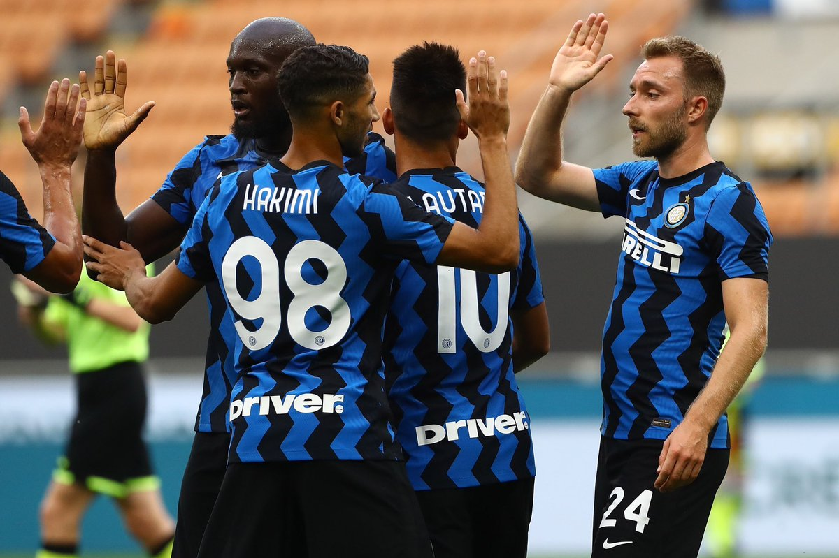 #Inter Pre-season is over  Vs Lugano 5-0 Vs carrarese 7-0 Vs Pisa 7-0 🔵⚫️🔥  Are we ready for title challenge ?👀 https://t.co/sAE1vuAUHb