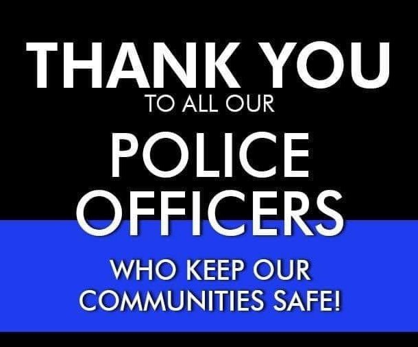 Today is National Thank a Police Officer day!  Thank You Heather and everyone that keeps me safe https://t.co/FOWz5uxPRA