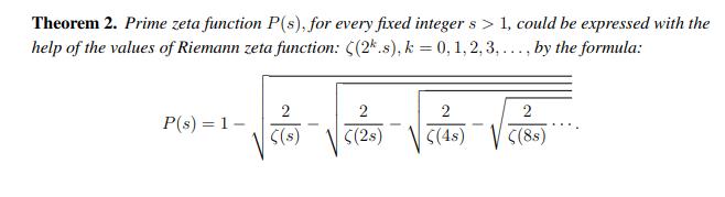 素数のn乗の逆数和について調べました→色々まとめてあった→リーマン予想との関係…?見れないので分からなかった→リーマンゼータとの関係式が載ってる(これ↓)