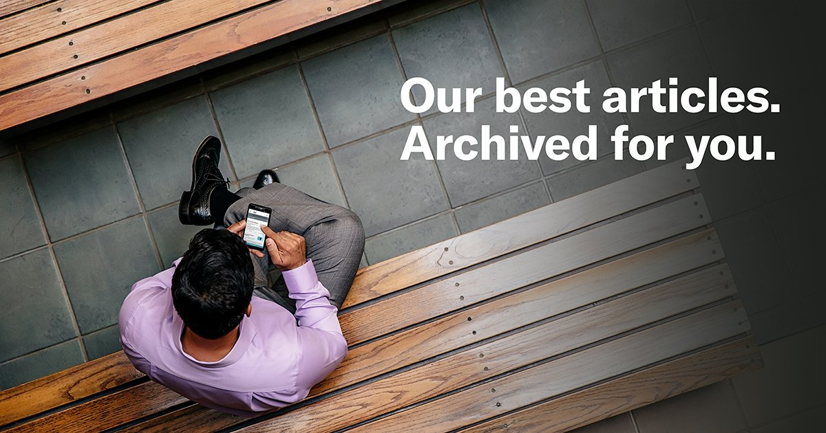HBR's top 50 articles of all time are waiting for you. Subscribe today to get exclusive access. https://t.co/XnVkkE5k47 https://t.co/NvewjZhV82