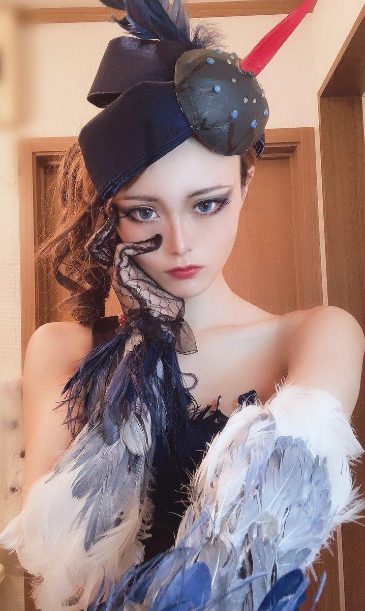 コスプレ第五人格─Identity V空軍─マーサ・べハムフィールブラックスワン