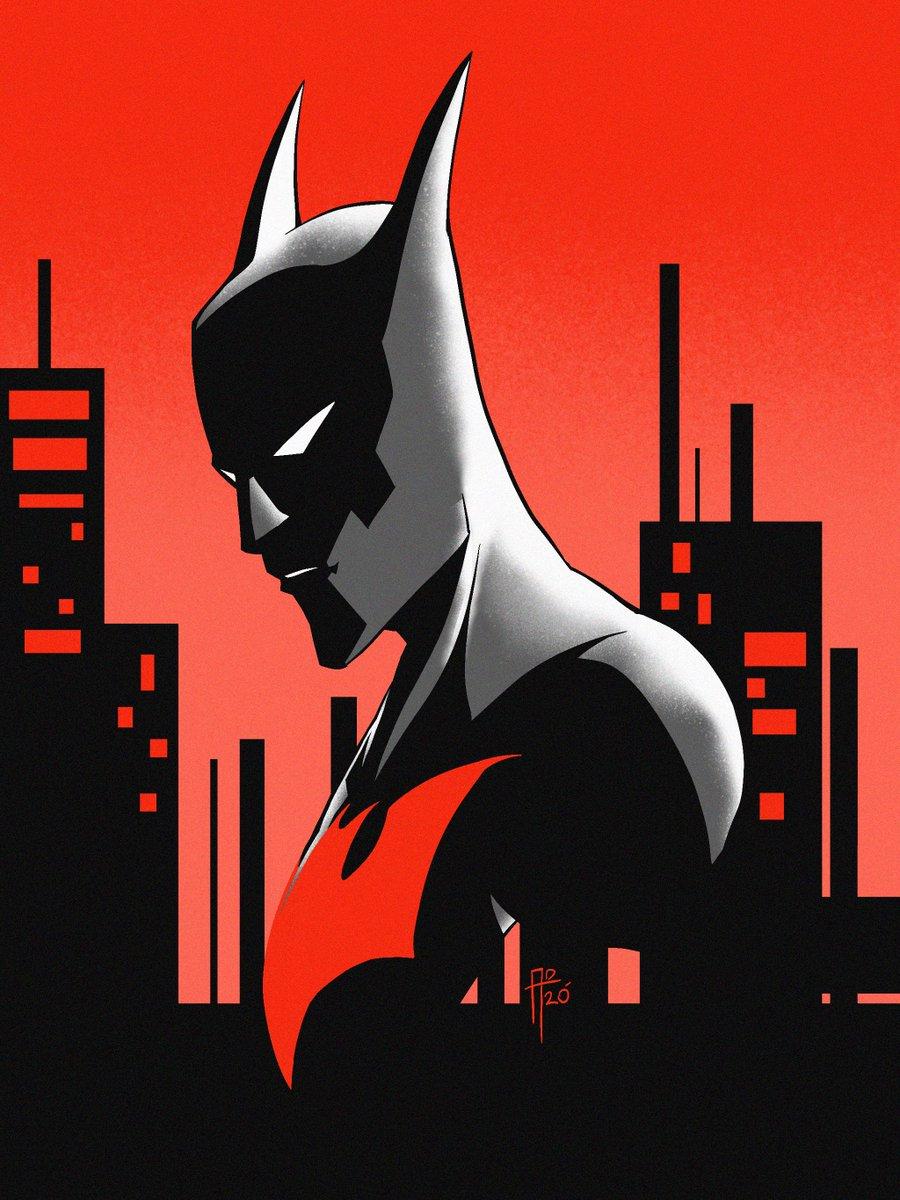 Batman beyond for #batmanday #art #doodle #sketch #batman #batmanbeyond #procreate https://t.co/dAJngdCwAG