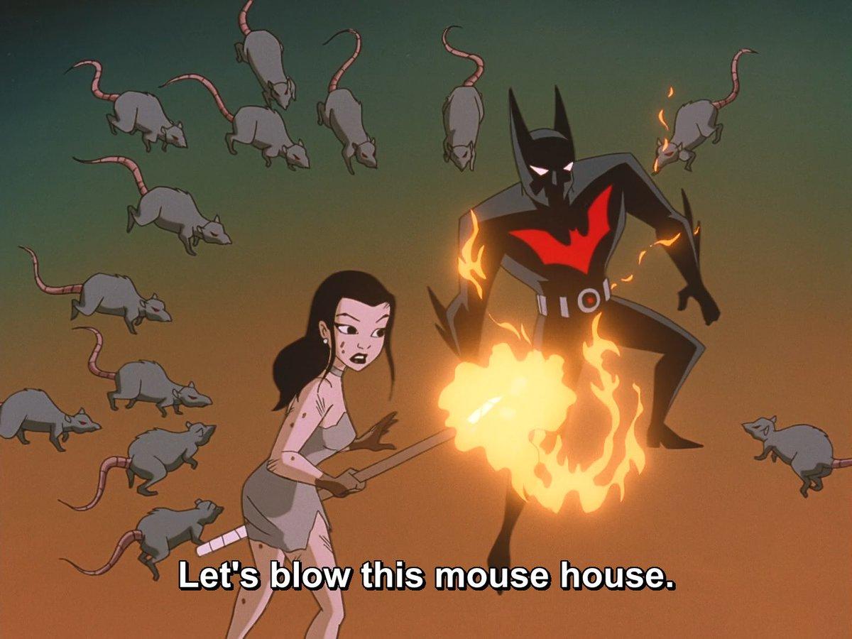 You can try, Terry. #BatmanBeyond https://t.co/yWEaU13UQD