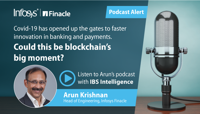 Finacle: In this #podcast with @IBSIntelligence, our Head of Engineering, Arun Krishnan discusses how #covid -19 has opened up the gates to faster #innovation in #banking & #payments, and how the pace of change is increasing despite the pandemic:  … https://t.co/LbmuWoWRgF