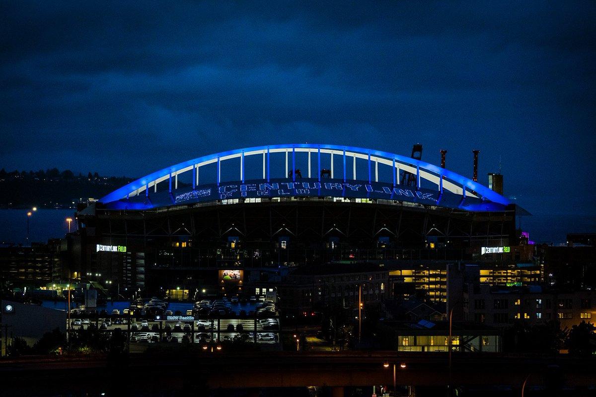 See you tomorrow @Seahawks 💙