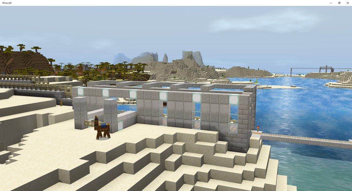 廃線を行く6 SR砂北本線東神丈湖駅 池本市にある神丈湖の東側にある駅である。絶妙に高い位置にあるため、観光客向けに作られたとみられる。周りに民家が無く住民の利用があまりないので普通に廃止対象になってました。9月20日廃止が決定済み  #マイクラ #Minecraft #マインクラフト https://t.co/jL4FgQcGf0