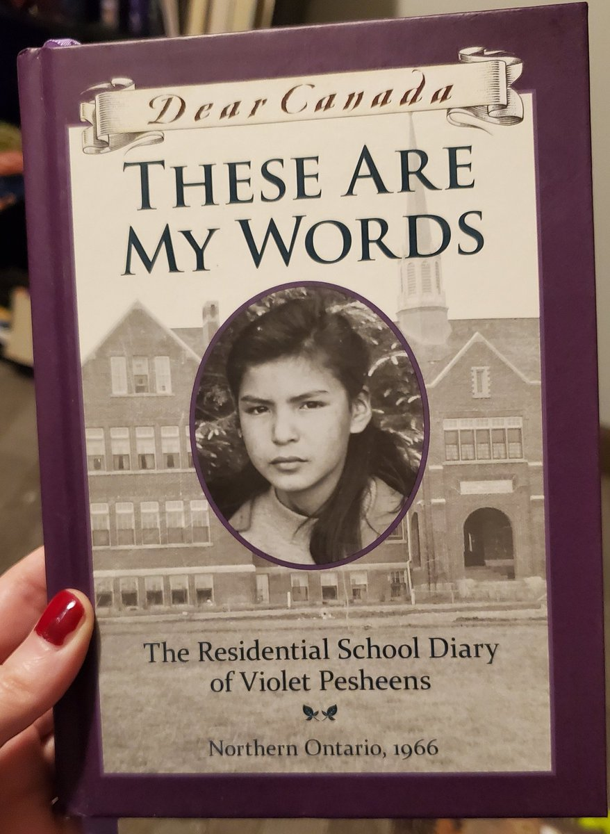 American friends: did you know there was a DEAR CANADA series? There is one about residential schools written by Ruby Slipperjack, a member of the Eabametoong First Nation and residental school survivor. (Unlike the Dear America one which is written by a white woman, of course) https://t.co/yOInMOUr1g