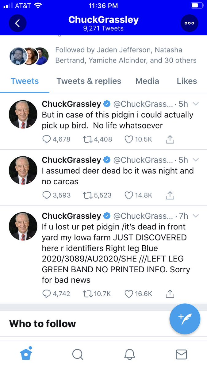 What the hell is wrong with Chuck Grassley??? https://t.co/lwDJskodvb