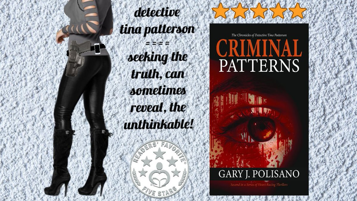 """Criminal Patterns - Crime/Mystery Vol. II.  Second in the series """"The Chronicles of Detective Tina Patterson."""" Website - https://t.co/lmlilvHOCP Amazon link - https://t.co/5NvFfjE11A  #crime #thriller #mystery #police #serialkiller #detective #awardwinning #cozymystery https://t.co/QaTv8Pwdn7"""