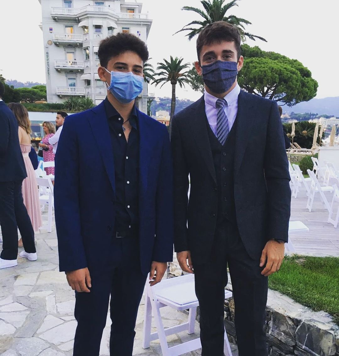 NEW || @Charles_Leclerc at Grand Hotel Miramare 🇮🇹 yesterday!  📸 : alessandroamico_  #F1 #Charles16 https://t.co/RXgMrID8cM