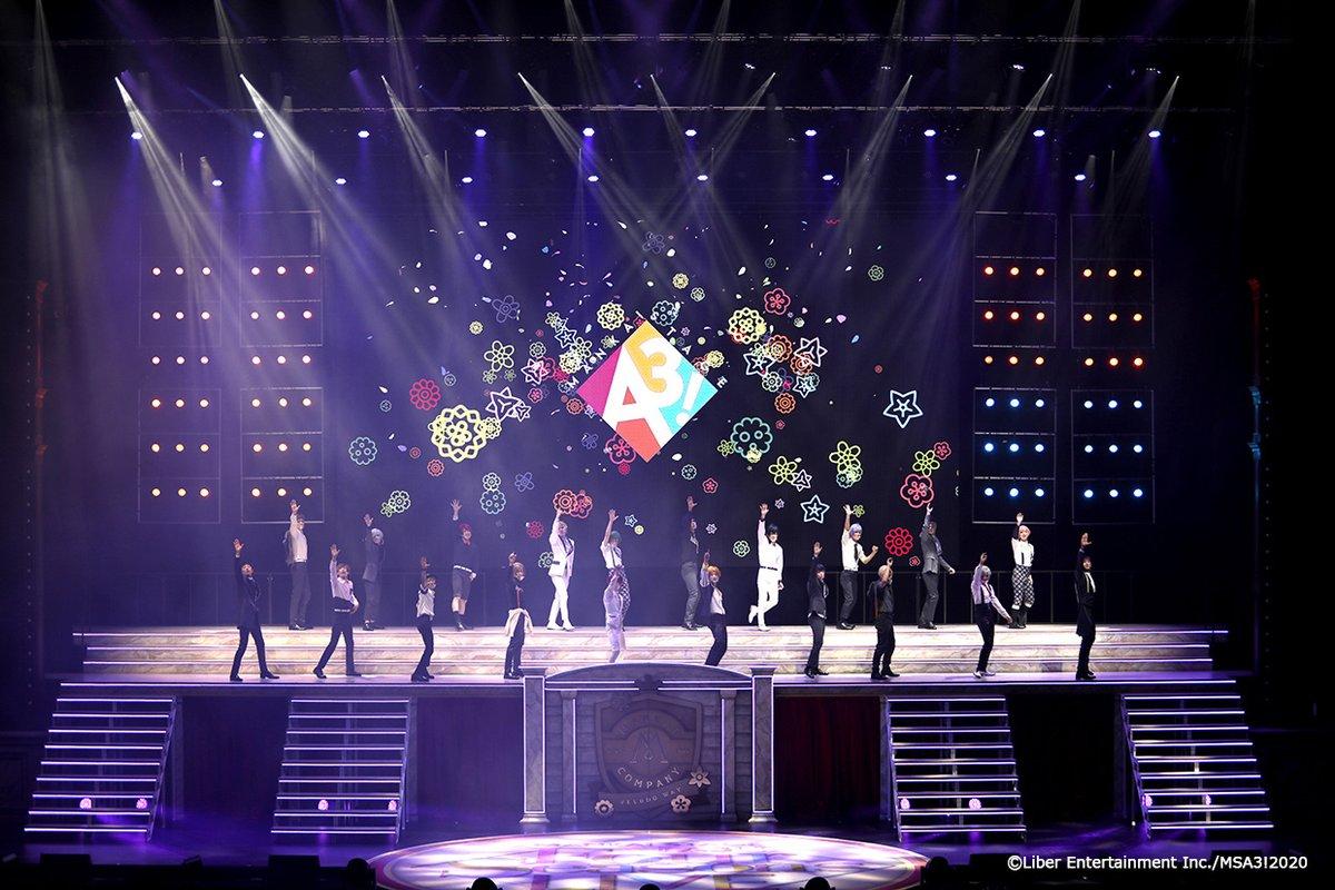 💐🌸🌻全6公演終了❗ありがとうございました🍁❄💐昨日、MANKAI STAGE『A3!』〜Four Seasons LIVE 2020〜の幕が下りました👏劇場、ライブビューイング、DMM生配信でご覧いただいた監督さん、誠にありがとうございました❗これからも #エーステ の応援を引き続きよろしくお願いいたします✨