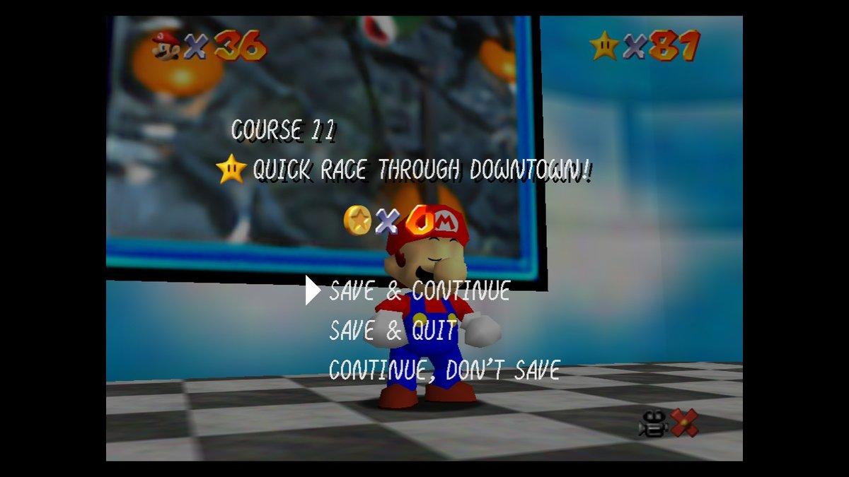 Over 2/3s of the way through #SuperMario64 #SuperMario3DAllStars #NintendoSwitch https://t.co/cPKb0f28li