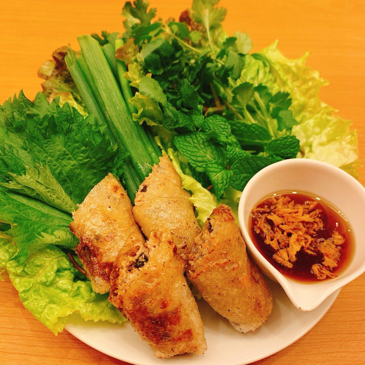 和酒バル由純、本日もオープンしました! 本日はベトナム料理、タイ料理共にやっております!!  具材たっぷりジューシーな #揚げ春巻き や、 まろやかで旨辛! #トムヤムラーメン など、和酒と合わせて楽しいお料理をご用意してお待ちしております。 https://t.co/ygrYSqa7dH