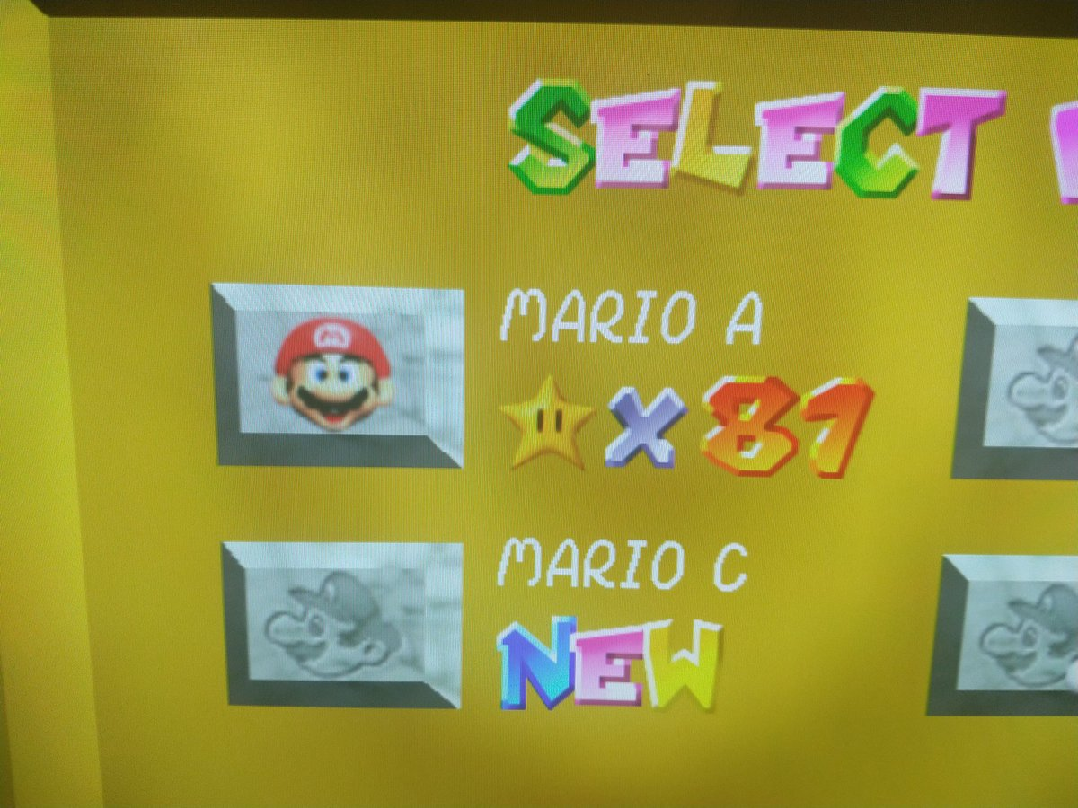 I remember a lot of this game and I feel like I'm speed running haha. Forever my favorite! #SuperMario3DAllStars #SuperMario35 #SuperMario64 #SuperMario https://t.co/Np79mvpc97