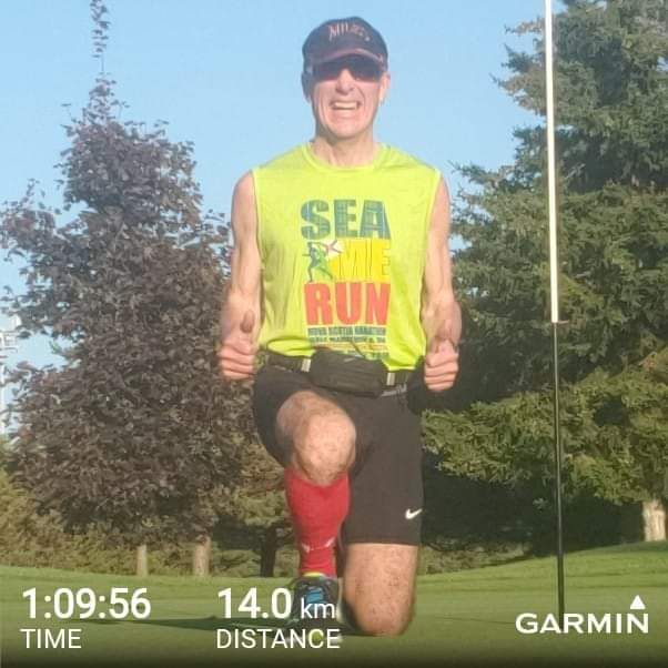 Fitness Friday Run: Plan - 14 @ 5:00 - Actual; 14k @ 4:59 avg/km. - 125M Elev. Gain 😎🌞 Gorgeous afternoon for a country run 🏃♂️💥😀😎  #ILoveRunning #RunHappy #HealthyMindandBody  #MentalFitness #DreamIt #TrainIt #LiveIt #TeamDreamBody #FitnessFriday #FitnessFridayRun https://t.co/du2F2d8FzF