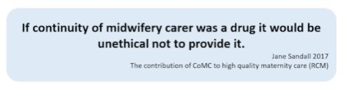 Spotted this quote from @SandallJane in relation to #continuityofcarer - too true! https://t.co/H3cuwqWrtz