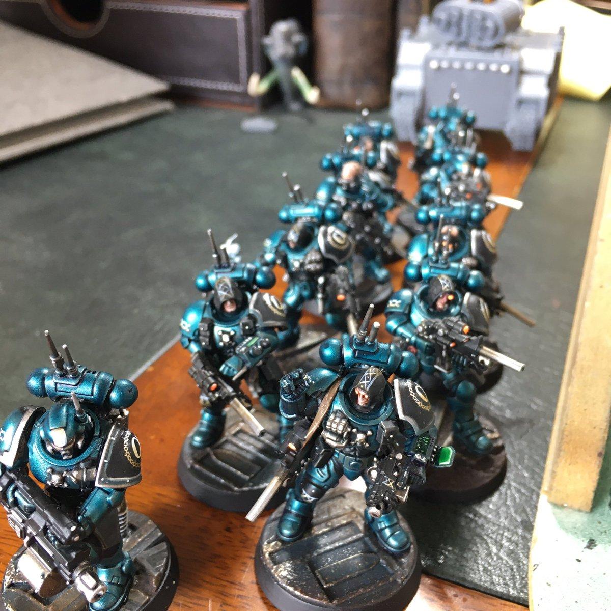 Alpha Legion assembling!   #paintingwarhammer #gamesworkshop #warhammer40k #paintingblacklibrary #paintingwarhammer40k #warhammercomunity #paintingforgeworld #spacemarines #new40k #adeptusastartes https://t.co/qawf36TpuS