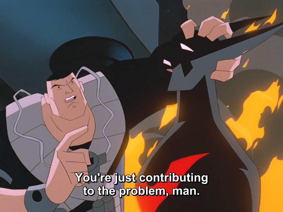 Isn't we all, Mr. Wayne? #BatmanBeyond https://t.co/IRciXWBmeQ