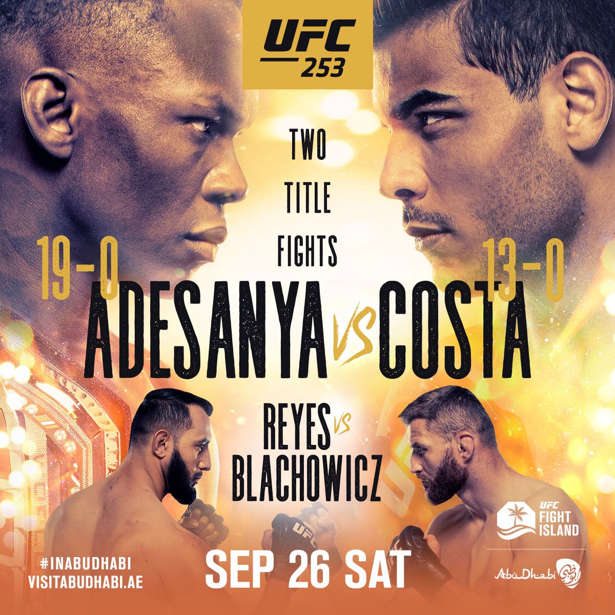 It's #UFC253 Fight Week!! 🏆🏆  #InAbuDhabi | @VisitAbuDhabi https://t.co/TzRROdS1Xh