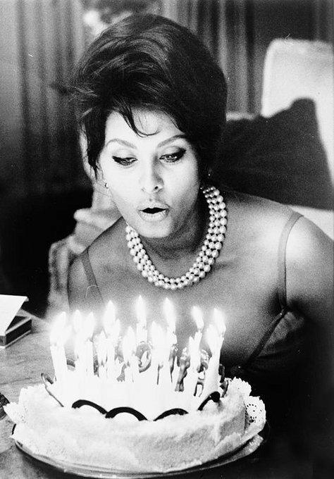 Wishing a happy 86th birthday to the radiant Sophia Loren