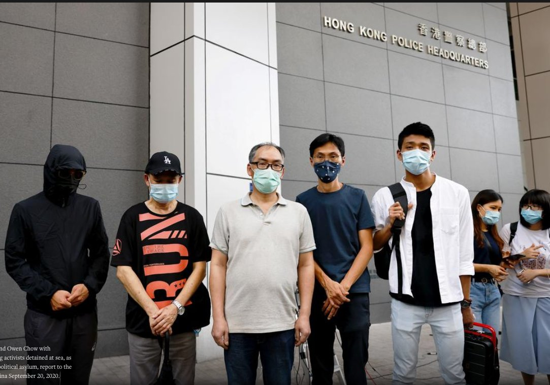 Relatives of 12 #HongKong people arrested by #China demand access for own lawyers  They demanded that Hong Kong's government check on their condition and ensure lawyers appointed by the families and not the #Chinese government https://t.co/e5GnzWP7hv https://t.co/S01Sy97sbl