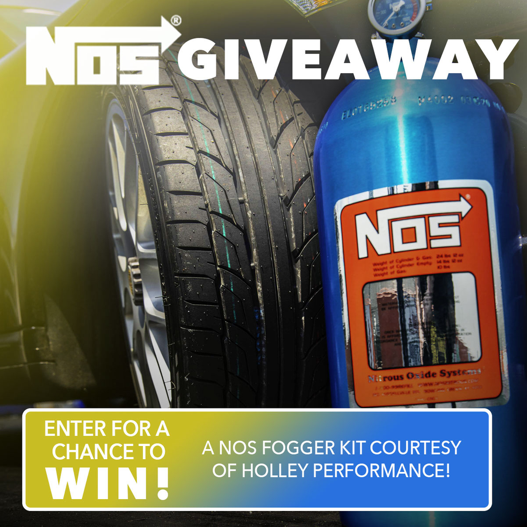 Enter for a chance to win a NOS Fogger Kit, courtesy of our friends at Holley Performance! Head over to Driving Line's YouTube for the full details 😎  #NT555G2 #DriverBattlesDragEdition #drivinglinevideo https://t.co/8WJmjtaU5P