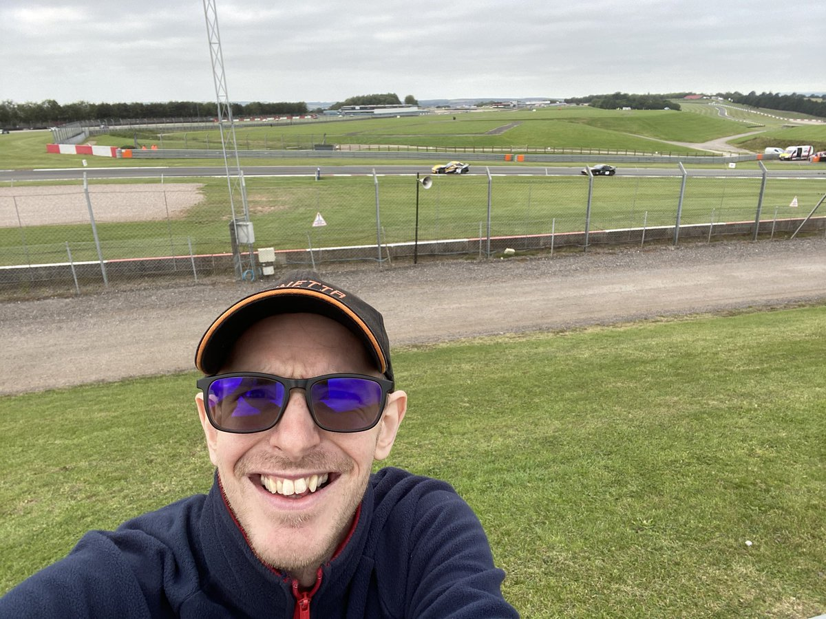 Here at @DoningtonParkUK for the @BritishGT round https://t.co/rfoakvBLy9