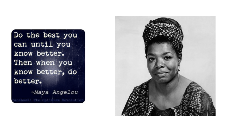 Also worth a reminder of the great words of Maya Angelou on what to do at all times.  Be the best you can until you know better. Then when you know better, do better.  EBM, not emotion, is the tool to tell you when to change.  #eusem20 @thesgem https://t.co/NUqJ28TEUK