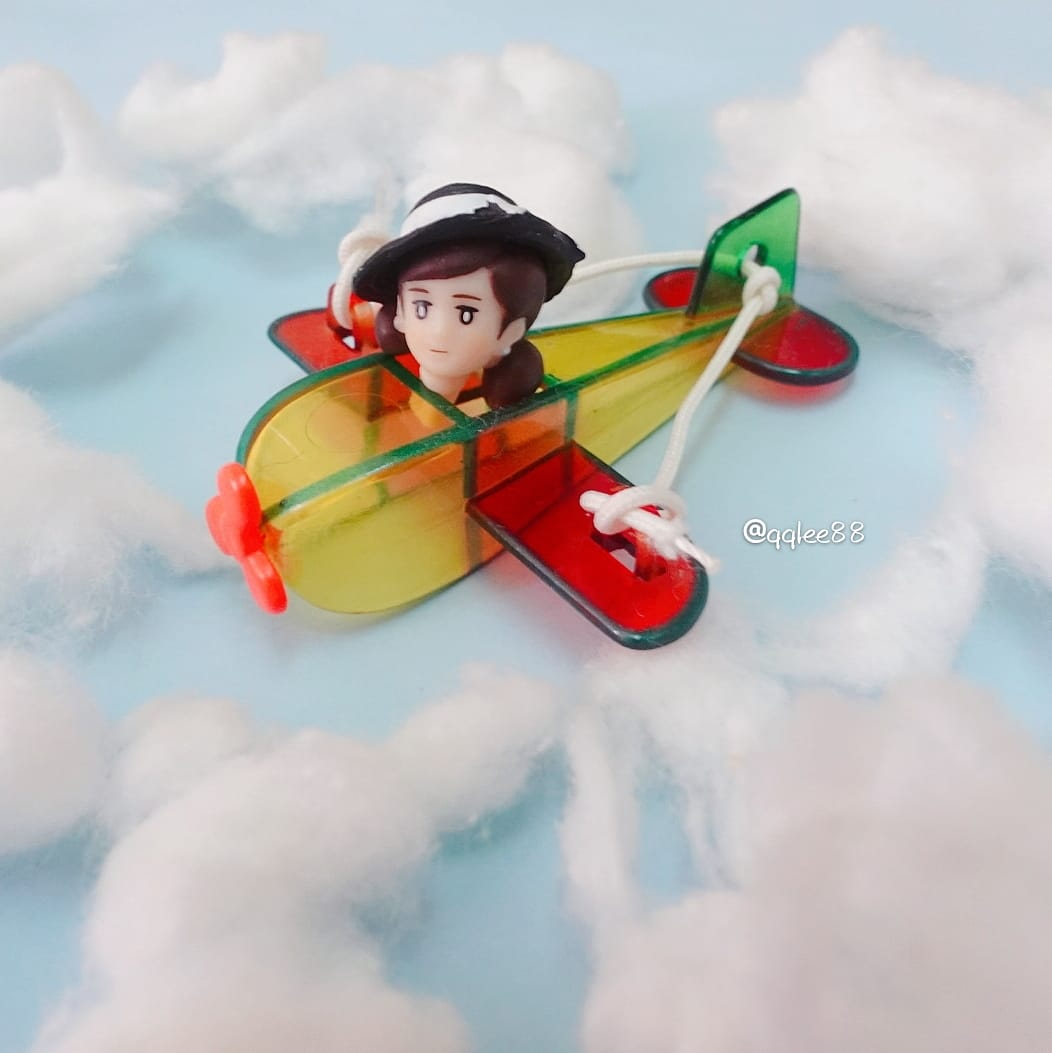9月20日 #空の日 幾時可以飛上天睇雲☁️  #空 #天空 #sky #雲 #clouds  #今日は何の日  #フチ子  #fuchiko  #fuchico  #杯緣子  #ol人形  #リーメント  #rement  #食玩  #扭蛋  #ガチャガチャ https://t.co/BBpcV7dLBu