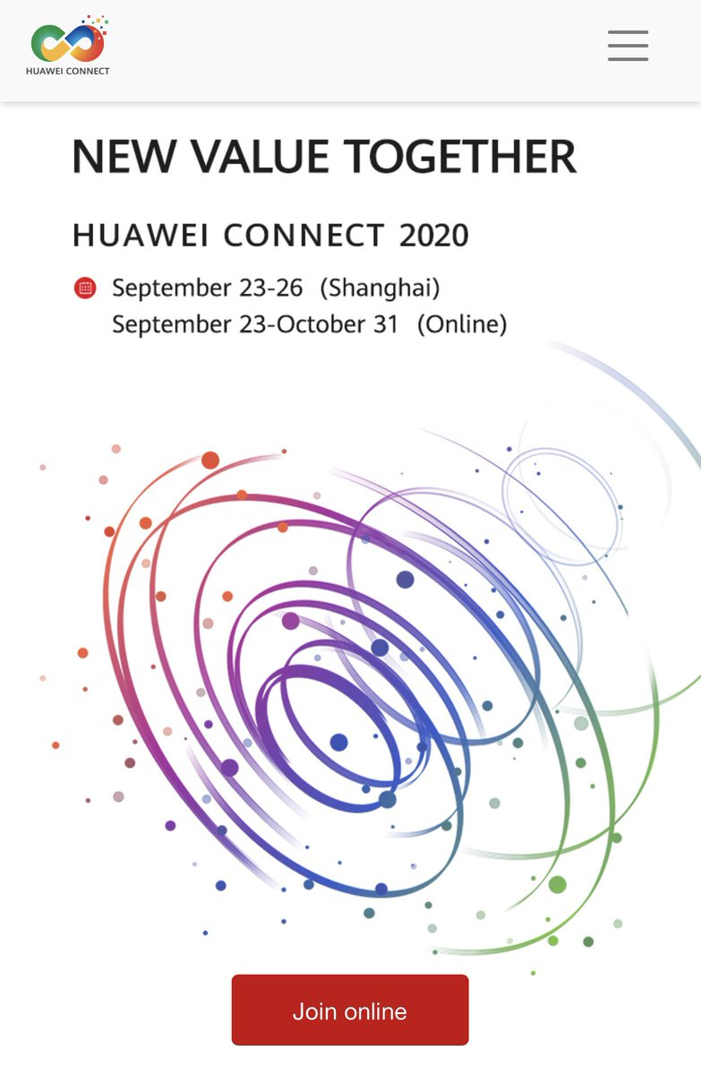 It's only 3 days until #HuaweiConnect 2020 kicks off in Shanghai! We have some excellent keynotes lined up for you from Sept 23-25. Check our website for more info & register to join the livestreams: https://t.co/QuSGo9ymtQ    Via @Huawei @Susie_WSQ #huawei https://t.co/554QZ4Xxuh