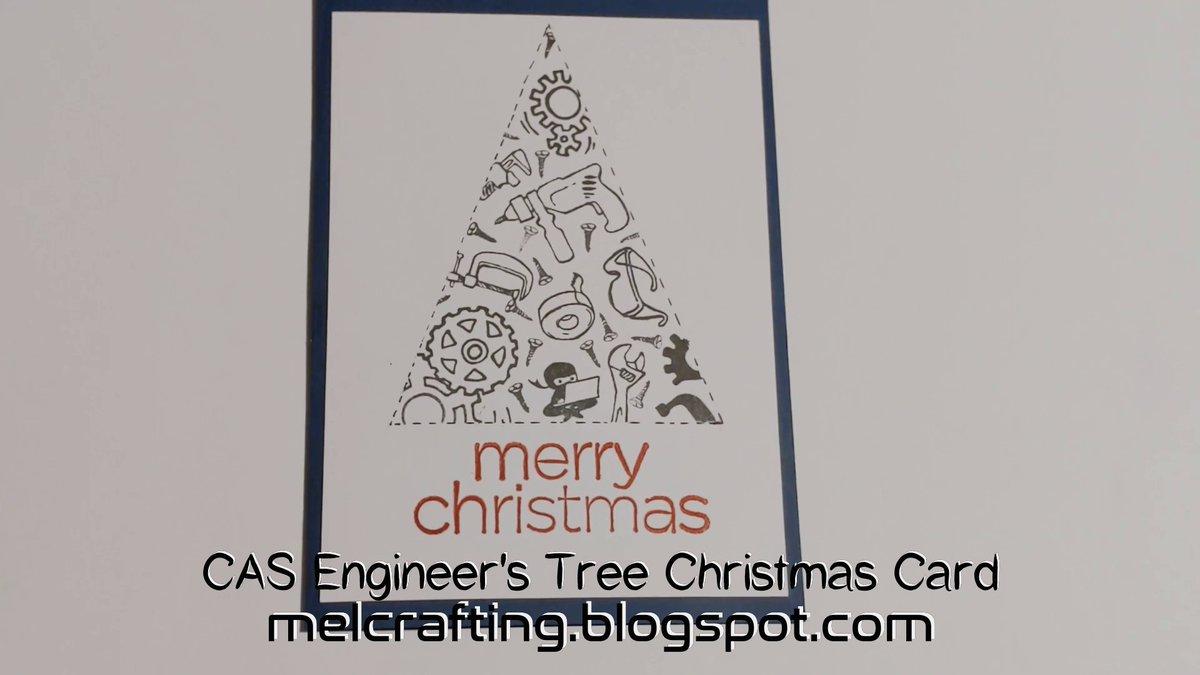 Engineering tree christmas Card #CAS #cardmaking #christmas #card #engineering #tree #masculine #male #tools #crafty #arty #papercraft @CraftingMel   https://t.co/6wQZNuAFWq  https://t.co/A9V9XMeqfC https://t.co/XfEWqGeoWj