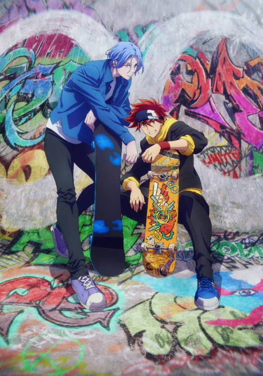 Studio BONES, Director 'Utsumi Hiroko' Reveal SK8 the Infinity Original Anime