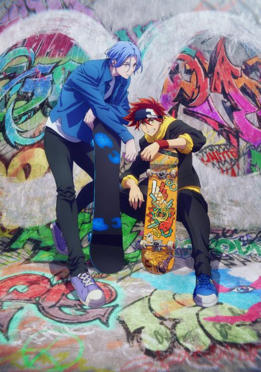 Studio BONES, Director 'Utsumi Hiroko' Reveal SK8 the Infinity Original Anime