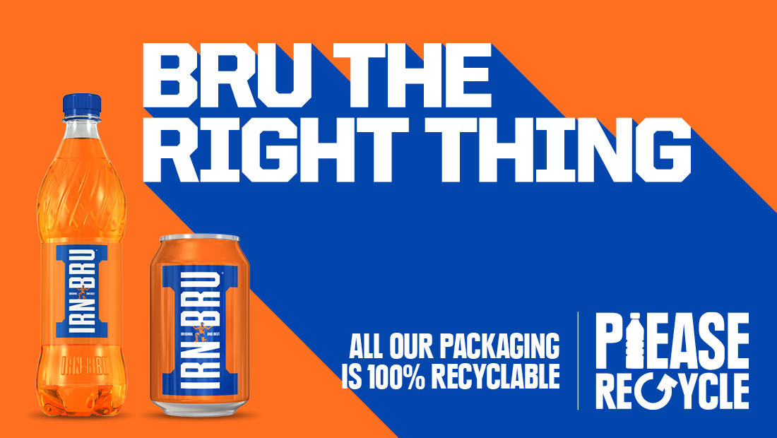 We're 100% behind Recycling Week ...and all our packaging is 100% recyclable.  So go on, BRU the right thing.  📅20th-27th September   #recyclingweek https://t.co/pgHS8BETWT
