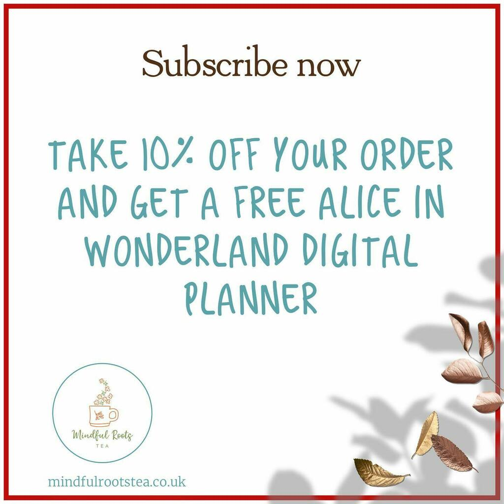 Subscribe to our newsletter now and to get exclusive deals and discounts, be the first to know about new products  and follow our journey.  . Link in Bio! . #subscribe #signup #discounts #mindfulrootstea #tea #teacommunity #tealovers https://t.co/wF6kZHJ2Gk https://t.co/z1bdhueb4f