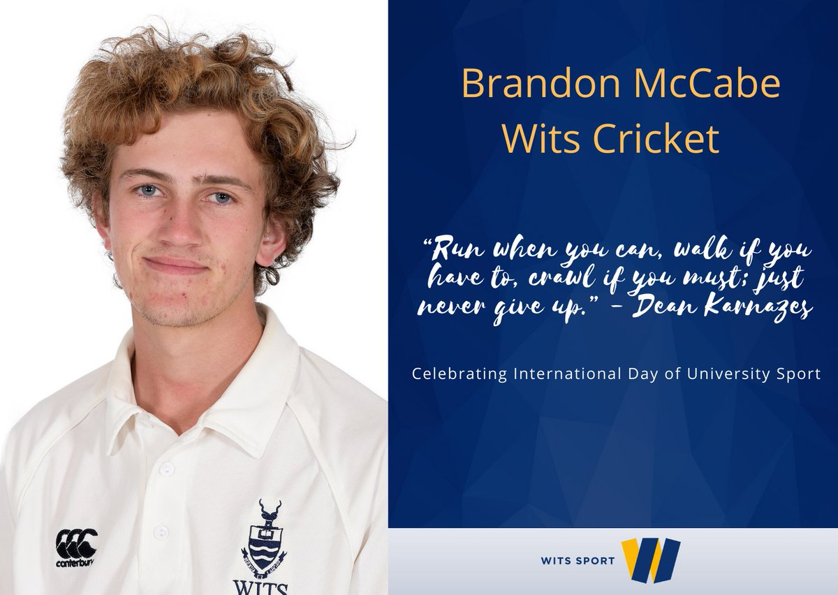 Happy International Day of University Sport🏆   We caught up with some of our team captains to find out what keeps them motivated  when representing @WitsUniversity on the playing field.  #WitsSport #LetsIDUS #ILoveWitsILoveTheBlues #WeAreAfrica @fasuafrica @FISU https://t.co/PTLcK4wdPH