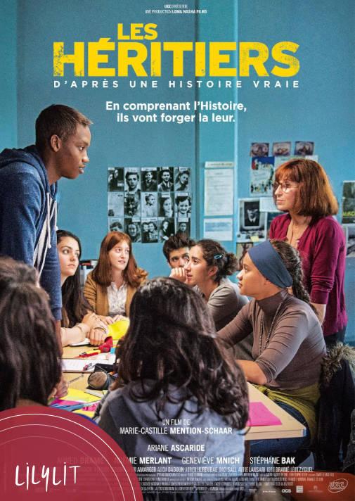 En ce moment dans le cycle dédié à l'école sur @ARTEfr, #LesHéritiers retrace l'année scolaire d'une classe agitée inscrite par sa prof d'histoire au concours de la résistance. Quelques scènes touchants et un certain réalisme mais pas inoubliable. https://t.co/P4QecCCfLe https://t.co/rzoVGvJwPe