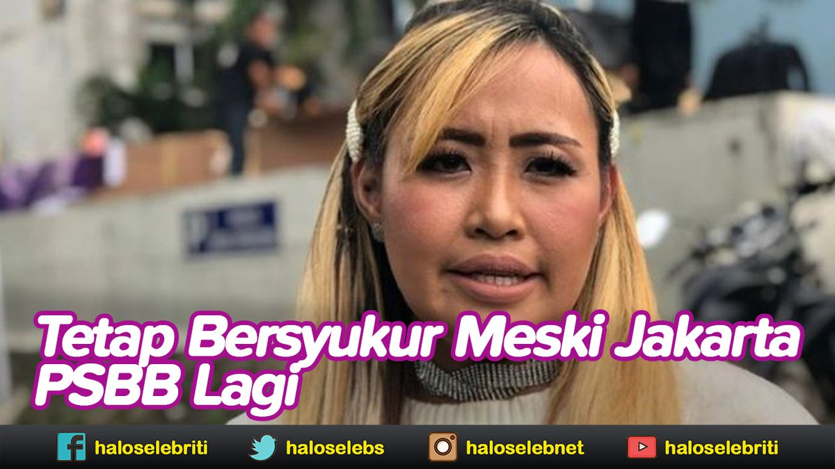 Pinkan Mambo Prihatin Jakarta PSBB Lagi | Halo Selebriti https://t.co/NXJF9yGHuv #PinkanMambo #PSBBLagi https://t.co/Tc0K0koNxI