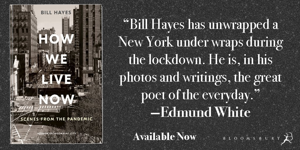 """""""Hayes's photos movingly capture a fraught and frightening moment in history."""" – Publishers Weekly  HOW WE LIVE NOW by @BillHayesNYC is now available!  https://t.co/7F5aGkFtLy https://t.co/93xzgL9mwP"""