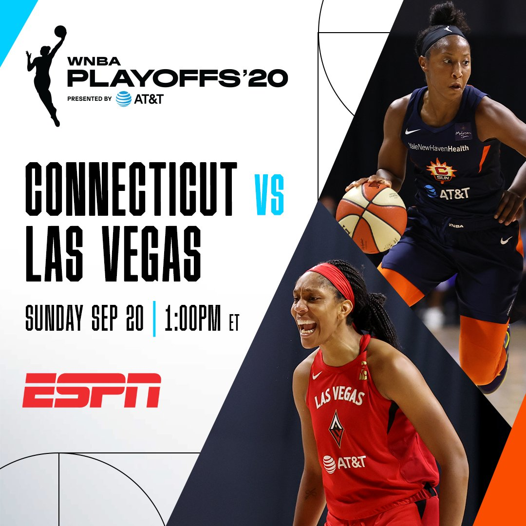 SEMIS START TODAY 🚨  Action tips off at 1pm/et on ESPN and continues on ABC!  #ATTPlayoffs https://t.co/wljPYLr4Sw