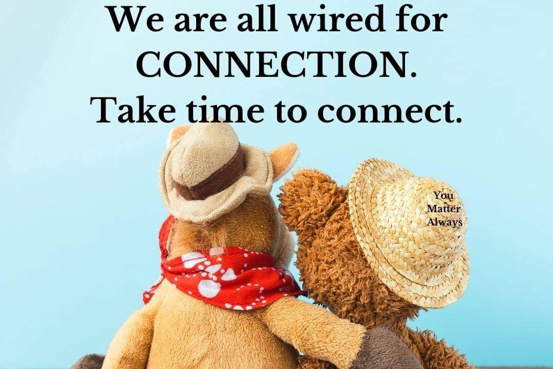 We are all wired for connection 💜💜💜 #YouMatterAlways #connection #empathyfuelsconnection #connectandreflect #peersupport #peerlearning #peerencouragement #inthistogether #hereforeachother https://t.co/4sLHH6VTq6