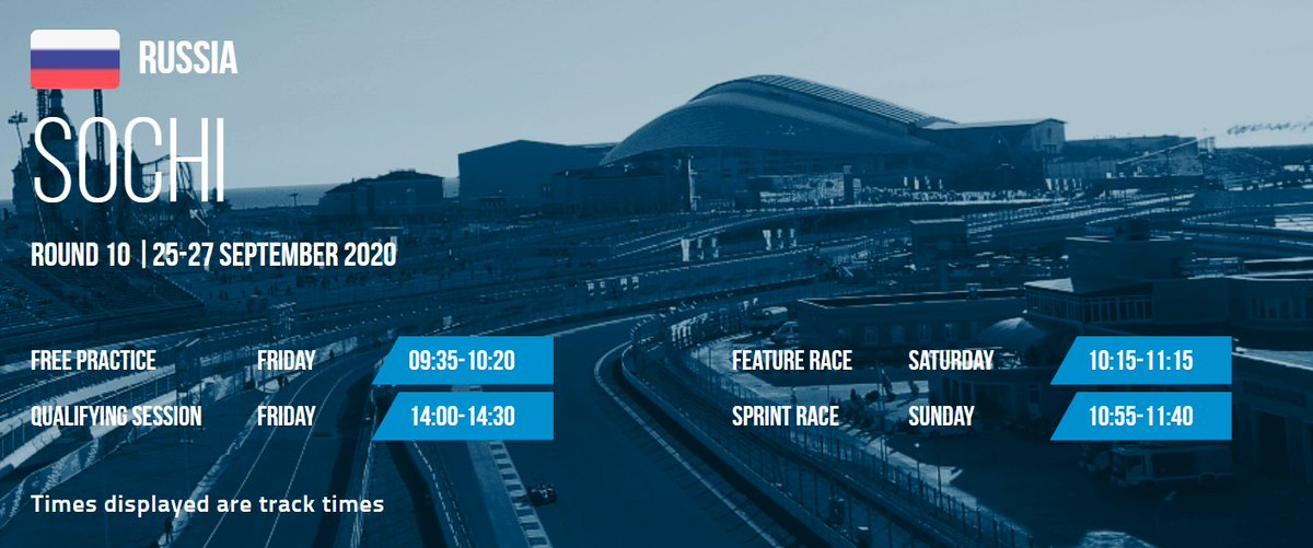 Having a slow brain day - Sochi F2 Feature race is at 8:15 am BST? Is that right? https://t.co/NwuZWqwc1Y