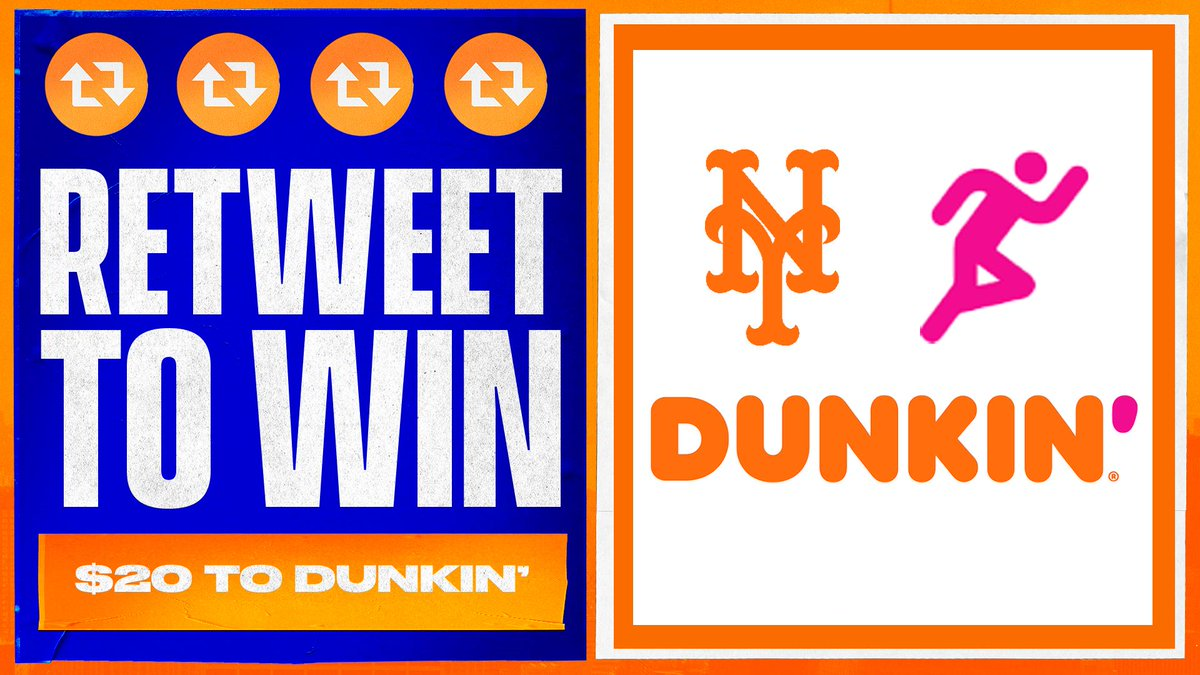 Up early, start your morning with Dunkin'!  RT this for your chance to win $20 to @dunkindonuts. ☕️🍩 #THXMetsFans https://t.co/ipe7uZCYZR