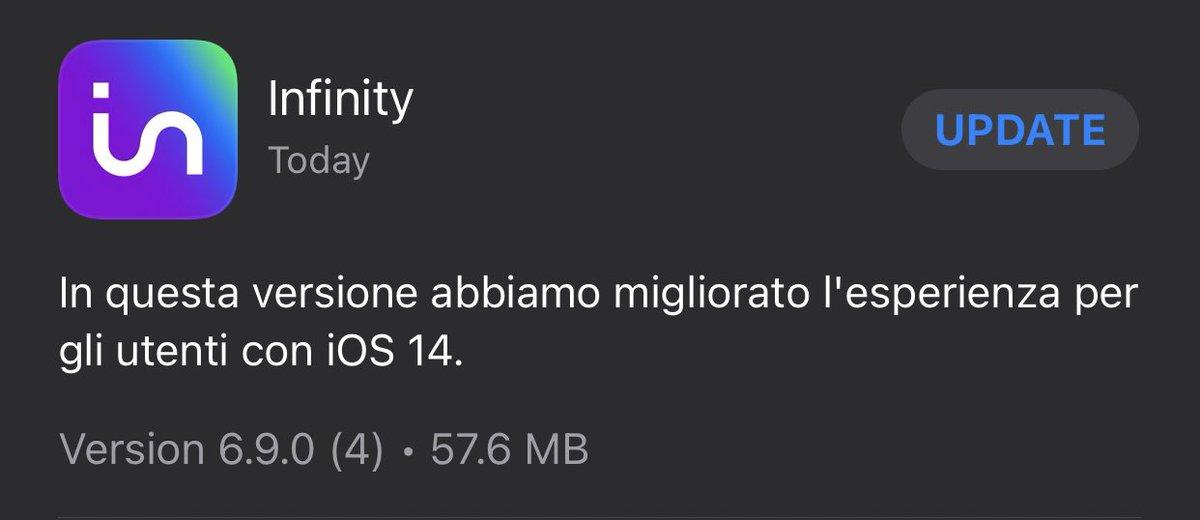 Grazie @infinitytv_it 👍 https://t.co/2Bzmyb5PDR https://t.co/LtiqltCteF