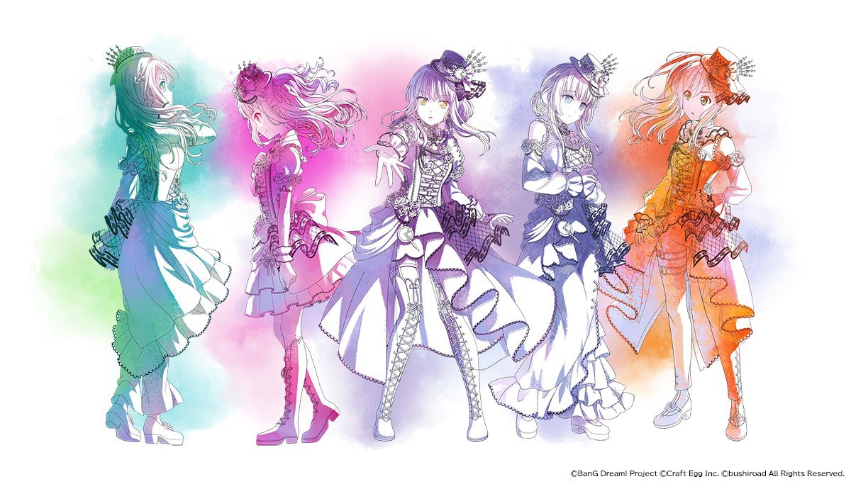 Bang Dream! Movie: Episode of Roselia I - Promise - Teaser Visual!! The movie is scheduled to premiere in Japan on 2021.